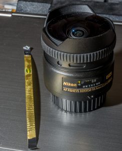 Cutting the 10.5 Fisheye